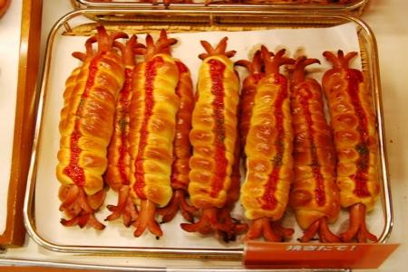 Hotdogs japanese style