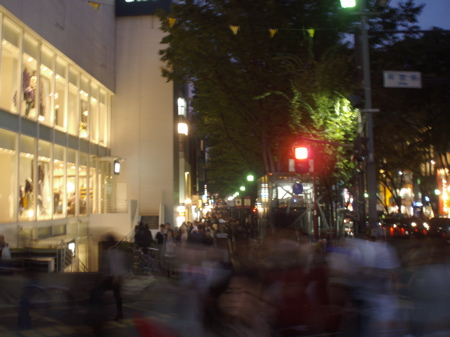 Omotesando by night