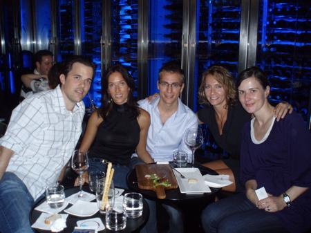 Mischa, Laura, Markus, Natalie, Isa