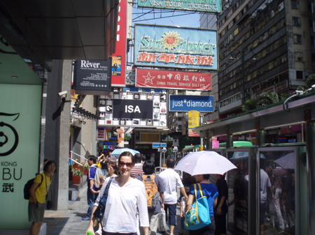 Isa in Kowloon.