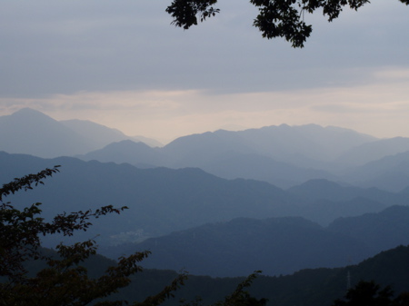 Ohne Wolken würde man hier den Fuji sehen...