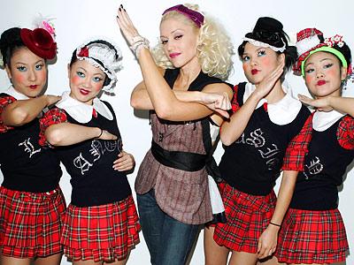 Gwen Stefani und ihre Harajuku girls