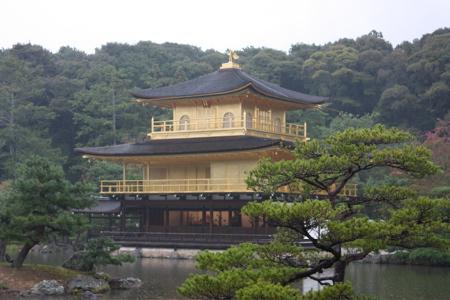Der goldene Pavillon in Kyoto