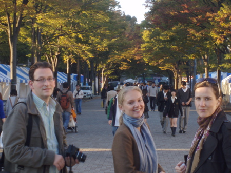 Auf dem Weg zum Yoyogi Park