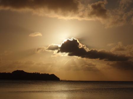 Beim Sonnenuntergang hatte ich die Kamera immer griffbereit.