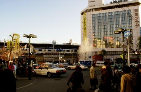 Der Bahnhof von Jiyugaoka.
