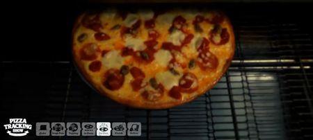 Meine Pizza ist fertig!