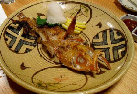 Dieses Ding war ein halber Fisch, der über 3000 Yen kostete!