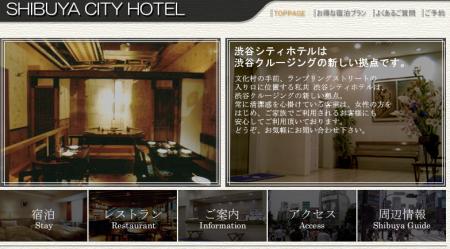 Oder wie wärs mit einer Nacht im Shibuya Shitty Hotel?