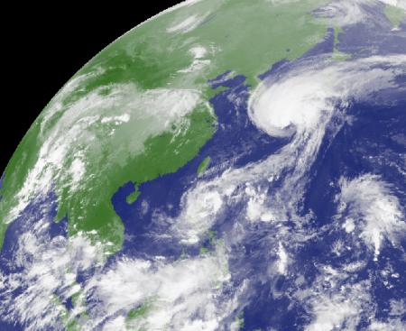 Im Satellitenbild.